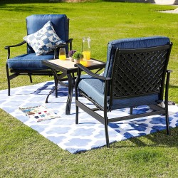 3 Piece Outdoor Furniture Set