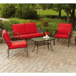 4-Piece Patio Conversation Set