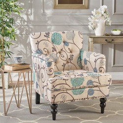 Tufted Club Chair