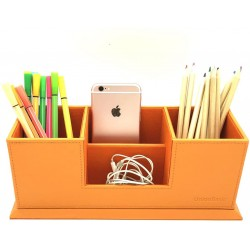 4 Compartment Desk Organizer