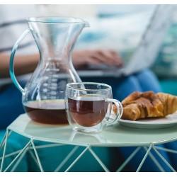 Coffee or Tea Glasses Set of 4