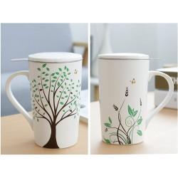 Ceramic Tea-Mug with...
