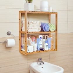 Bamboo Bathroom Shelf...